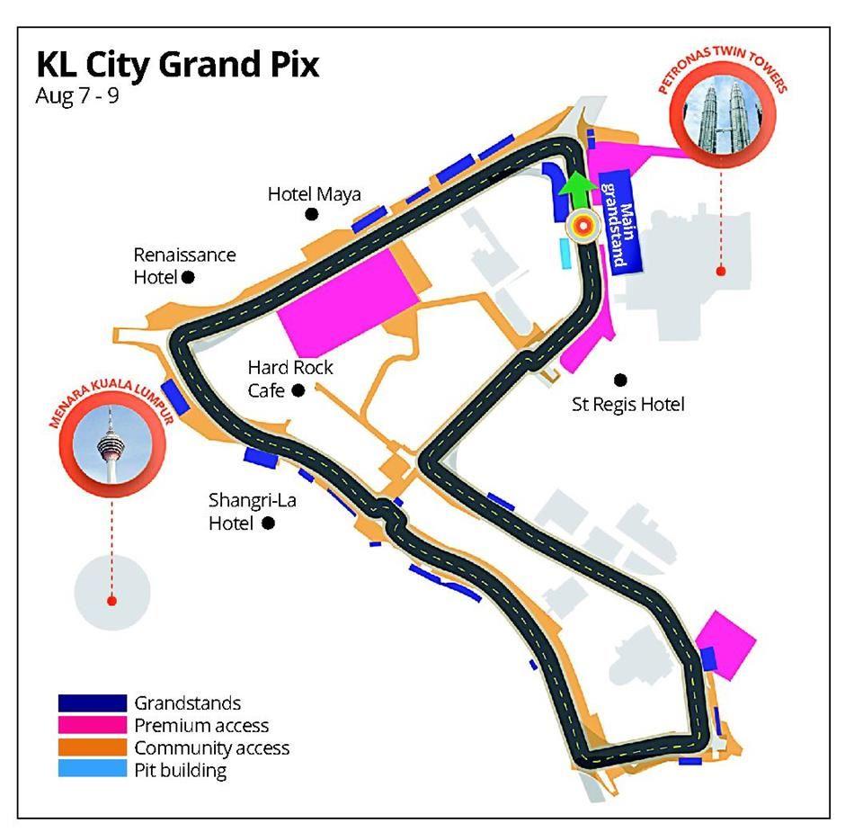 kuala lumpur grand prix track meet