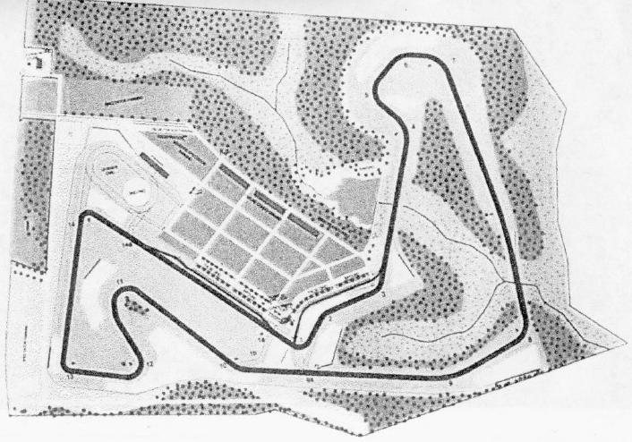 Carolina Motorsports Park Track