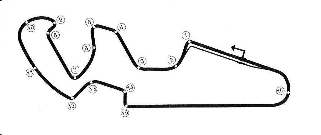 078 km FIM (motorcycle) circuit. Long