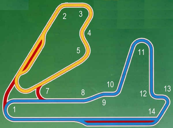 Cayuga Track Info