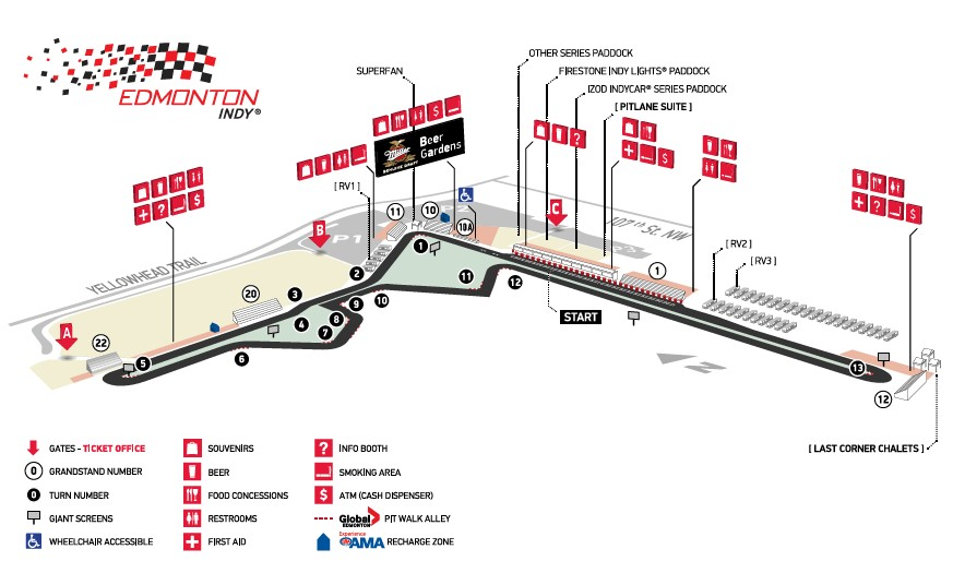Edmonton airport track info for Used cars airport motor mile