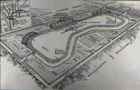 Mines field track info for Motor speedway los angeles