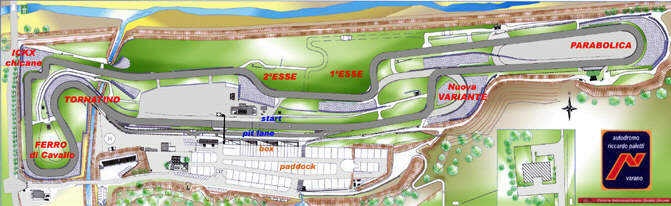 Circuito Varano De Melegari : Circuito riccardo paletti varano de melegari autodromo